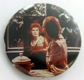 David Bowie - 'Mirror' Large Button Badge